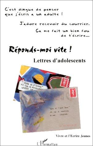 Lettres d'adolescents