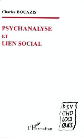 Psychanalyse et lien social