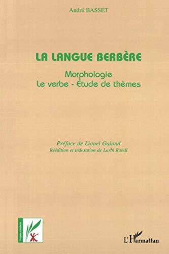 Langue berbère (La)
