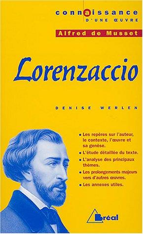 Lorenzaccio, Alfred de Musset
