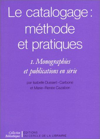 Catalogage (Le)