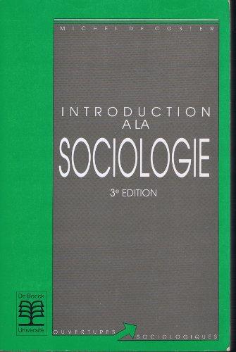 INTRODUCTION A LA SOCIOLOGIE