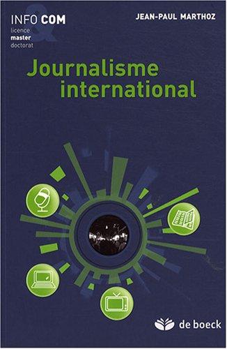 Journalisme international