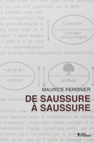 De Saussure à Saussure
