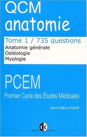 QCM d'anatomie