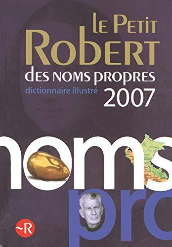 Petit Robert des noms propres 2007 (Le)