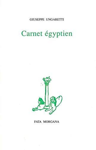 Carnet égyptien