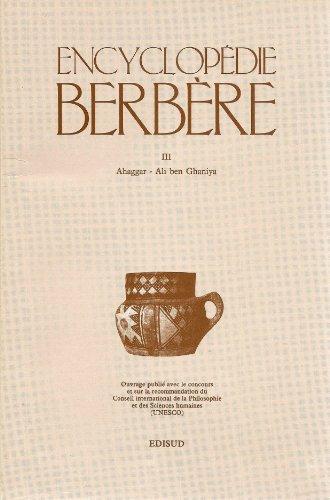 Encyclopédie berbère