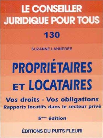 Propriétaires et locataires