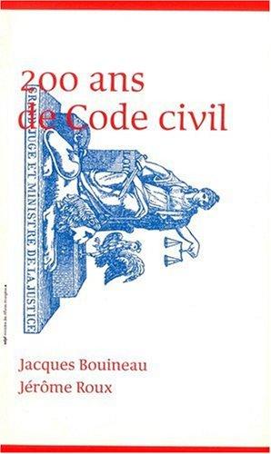 200 ans de code civil